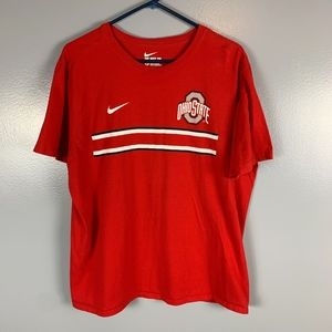 The Nike Tee, red short sleeve, size XL